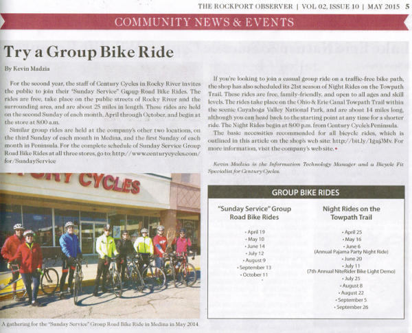 Scan of May 2015 Rockport Observer article, page 3