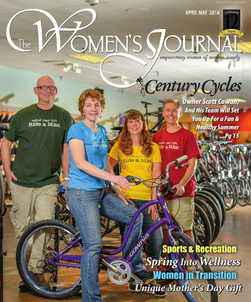 Cover of the April/May 2016 issue of The Medina County Women's Journal