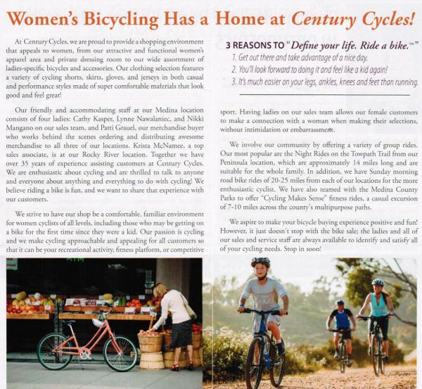 Scan of Women's Journal June/July 2016 article
