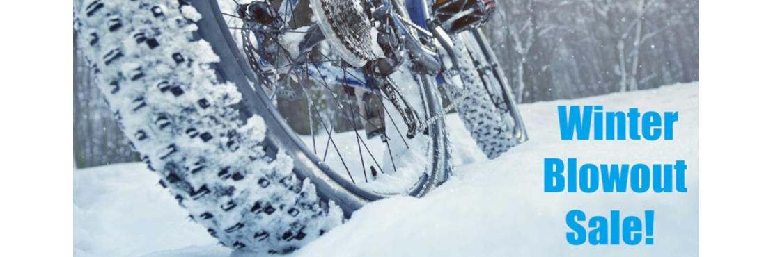 Winter Blowout Sale! 25% OFF all clothing, parts, & accessories! 15% OFF all bicycles!