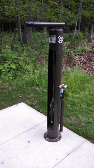 Bedford Bicycle Fixit Station