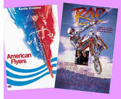American Flyers and RAD movie posters