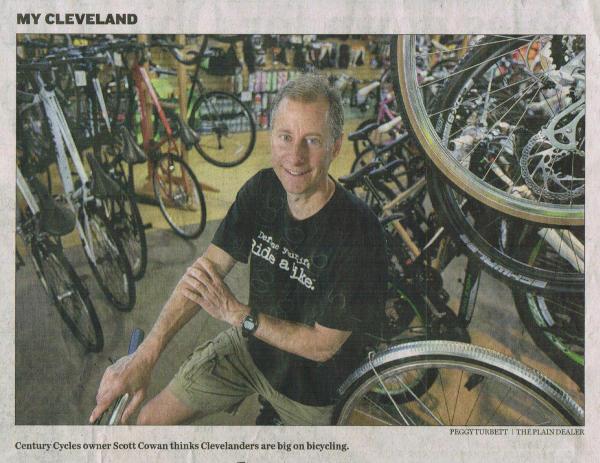 Scan of Cleveland Plain Dealer article of June 23, 2013 (part 1)