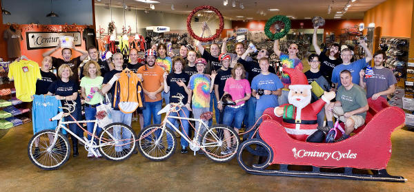 Century Cycles staff with their favorite holiday gift ideas