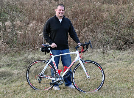 Bob Soroky and his '11 Giant Defy Advanced 1