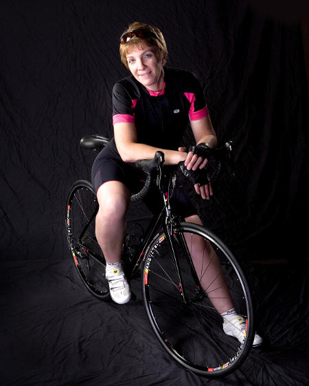 Cathy Kasper and her Liv/giant Avail Inspire (photo by Ed Meyer)