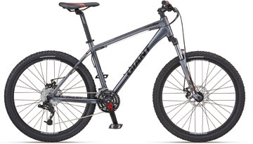Front-suspension mountain bike