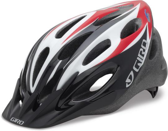 Giro Indicator helmet in Red/Black