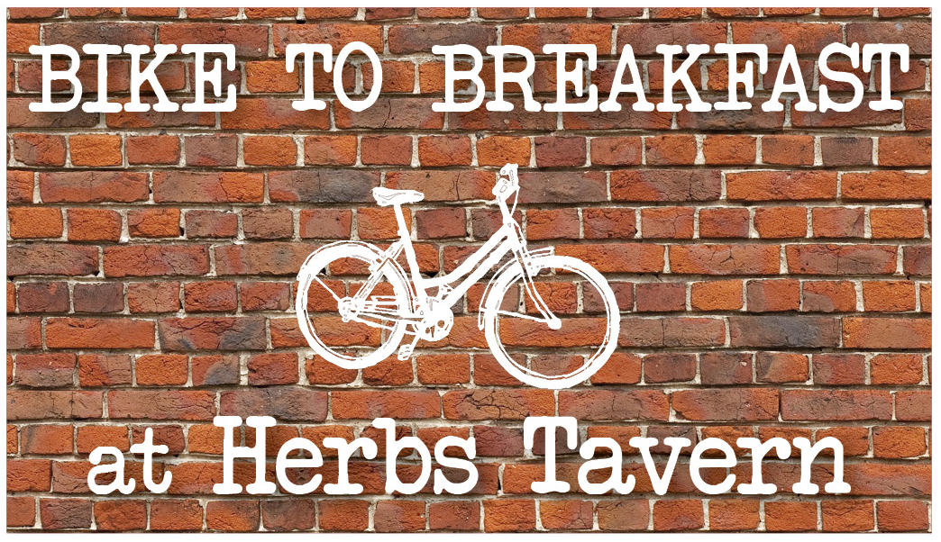 Bike to Breakfast at Herb's Tavern