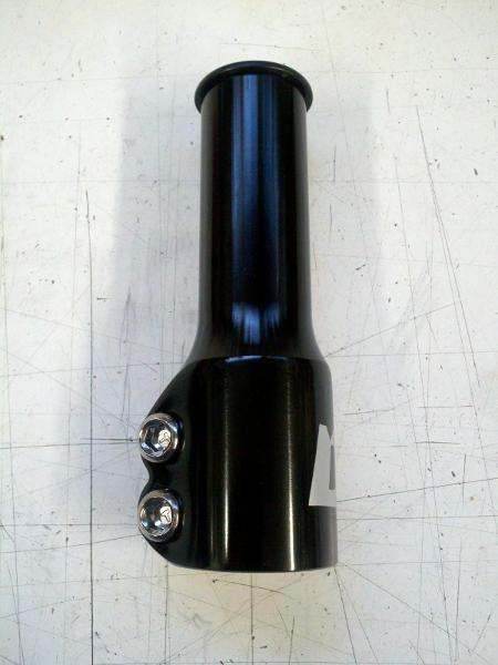 Threadless steerer tube extender