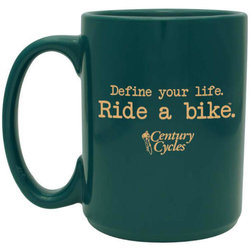Century Cycles Define Your Life. Ride a Bike. Coffee Mug