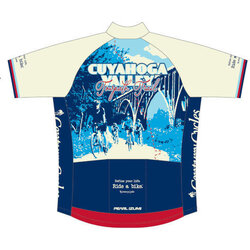 Pearl Izumi Century Cycles Cuyahoga Valley Towpath Trail Cycling Jersey (Men/Unisex)