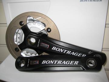 Bontrager Big Earl Crankset 165mm 32/22T with bash guard