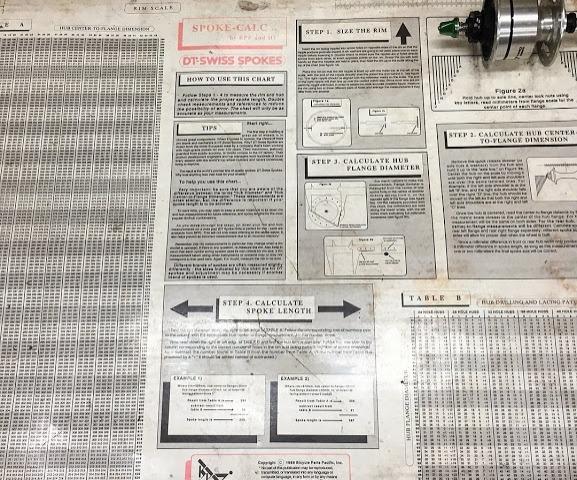 DT Swiss Spoke Length Calculation Kit