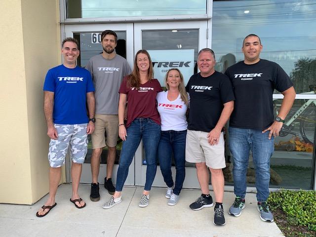 The Trek Clermont team