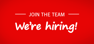 Join the team, we're hiring