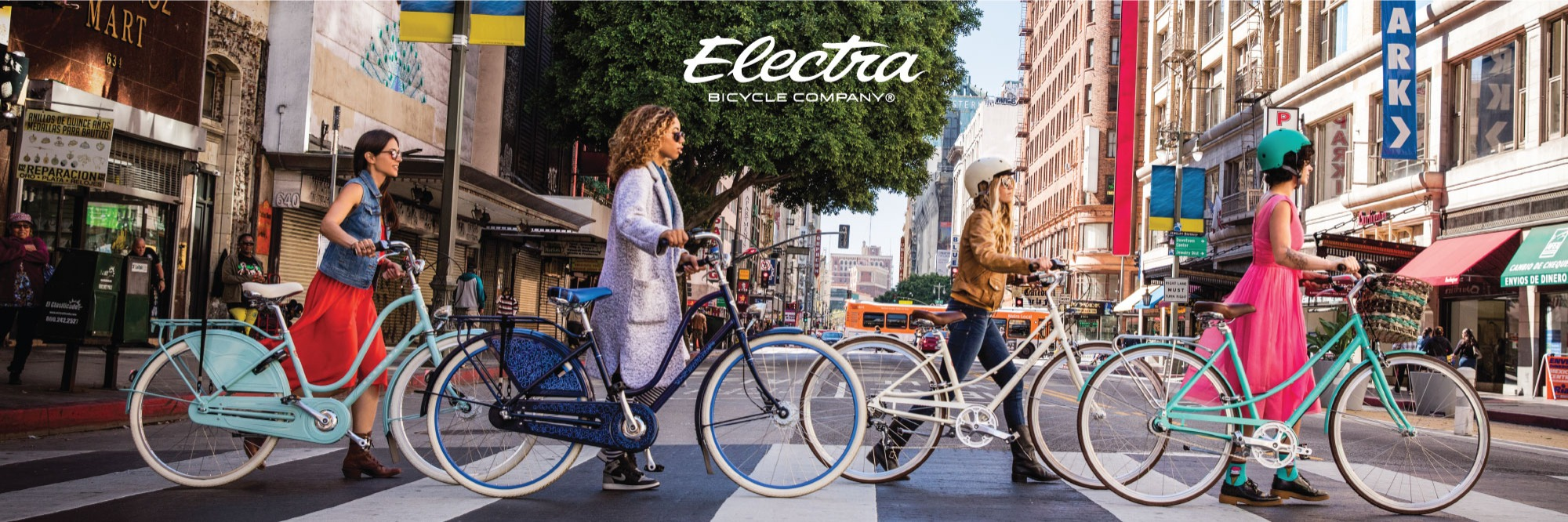 Electra Bikes Sold Here