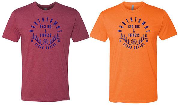 Northtowne Cycling T-Shirt: Camp design