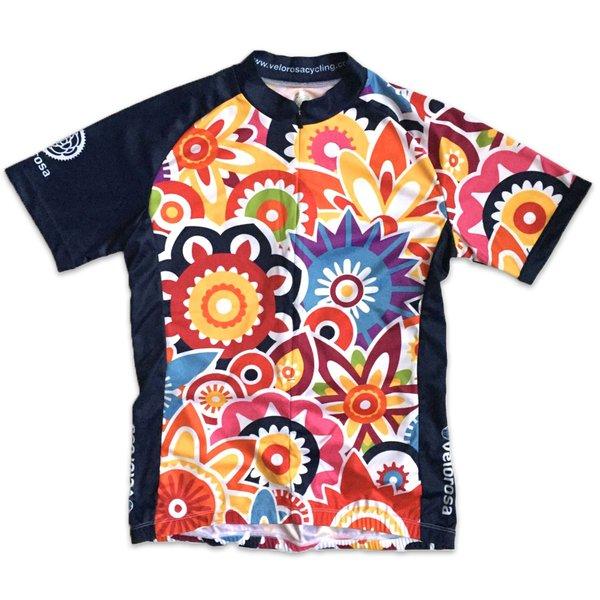 Velorosa Flower Power Short-Sleeved Jersey