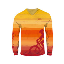 Northtowne Cycling Long Sleeve MTB Jersey