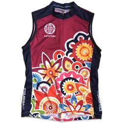 Velorosa Flower Power Sleeveless Jersey