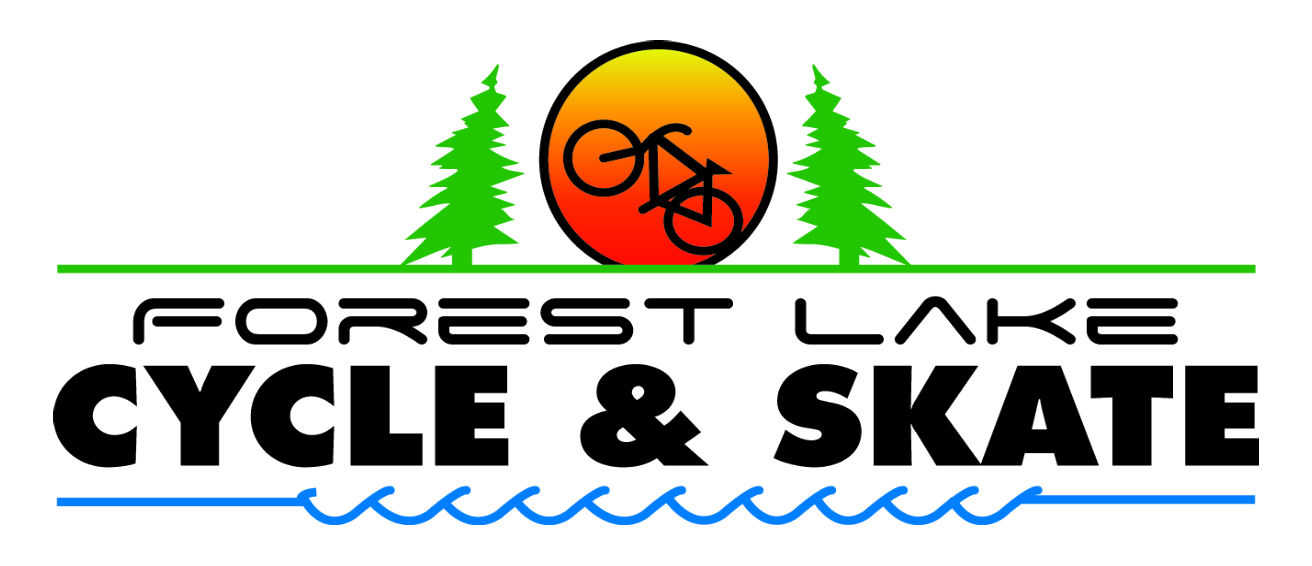 Forest Lake Cycle and Skate Logo