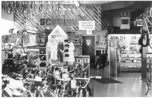 Bike Barn Photo History: The Wonder Years