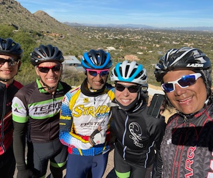 group rides photo
