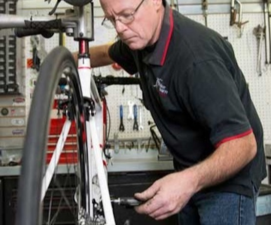 We're the professionals- let us take care of you and your bike