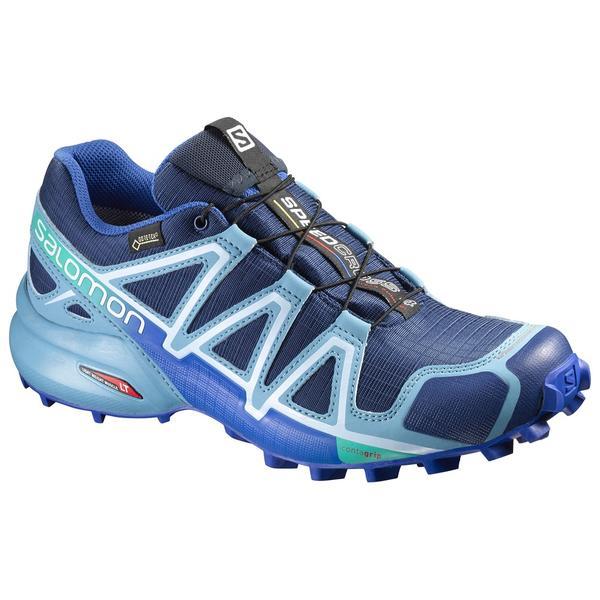 salomon speedcross 4 gtx womens blue 9.5