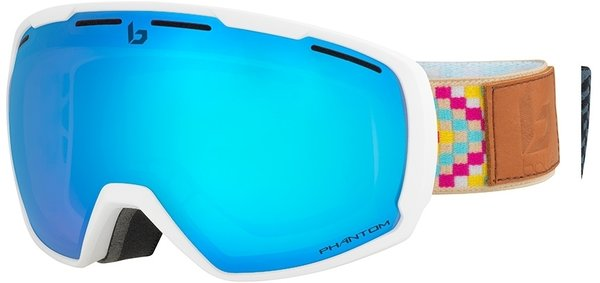 Bolle Laika Goggles Color: MATTE WHITE ETHNIC/ PHANTOM BLUE