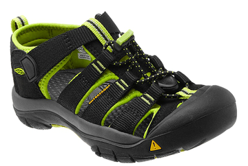 Keen Newport H2 Color: Black/Lime Green