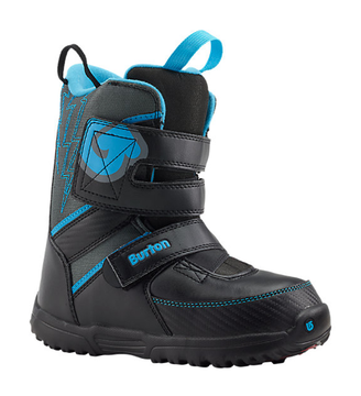 Burton Grom Color: Black / Gray / Blue