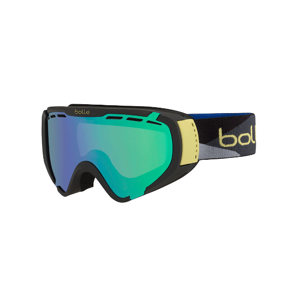 Bolle Explorer Color: Black Camo/Green Emerald