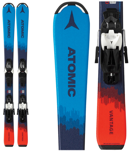 Atomic Vantage Jr Skis with C5 Bindings