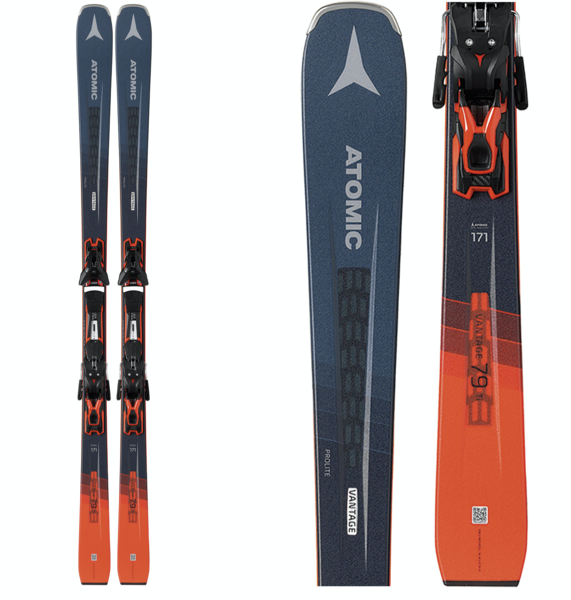 Atomic Vantage 79 TI Skis - FT 12 Bindings