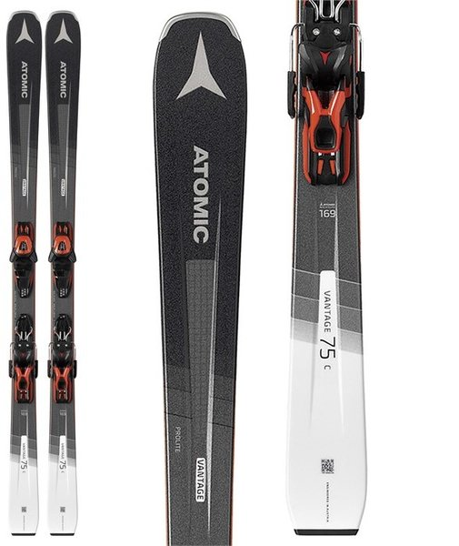 Atomic Vantage 75 C Skis ?and L 10 GW Bindings