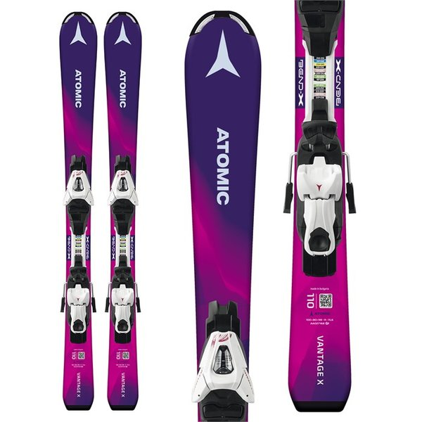 Atomic Vantage Girl X Skis + C 5 ET Bindings