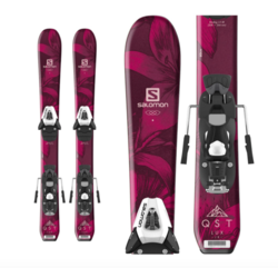 Salomon QST Lux Jr. Kids Skis