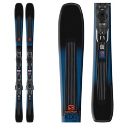 Salomon XDR 76 ST Skis with Lithium 10 Bindings