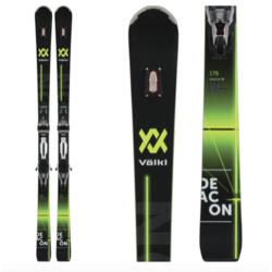 Volkl Deacon 76 with rMotion2 Bindings