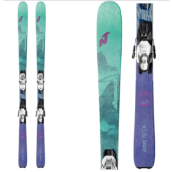 Nordica Astral 78 CA Womens Skis with TP2 Compact 10 FDT Bindings