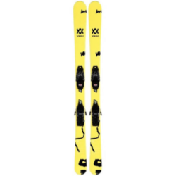 Volkl Revolt Jr Skis + VMotion Bindings