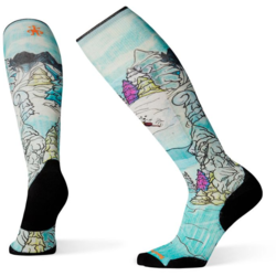 Smartwool PhD Ski Light Elite Pow Days Print Socks