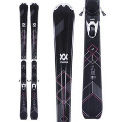 Volkl Flair 73 Skis + VMotion 10 Bindings