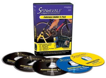 Spinervals Endurance Builder 5 pack