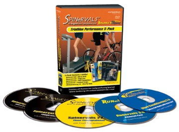 Spinervals Triathlon Performance 5 pack