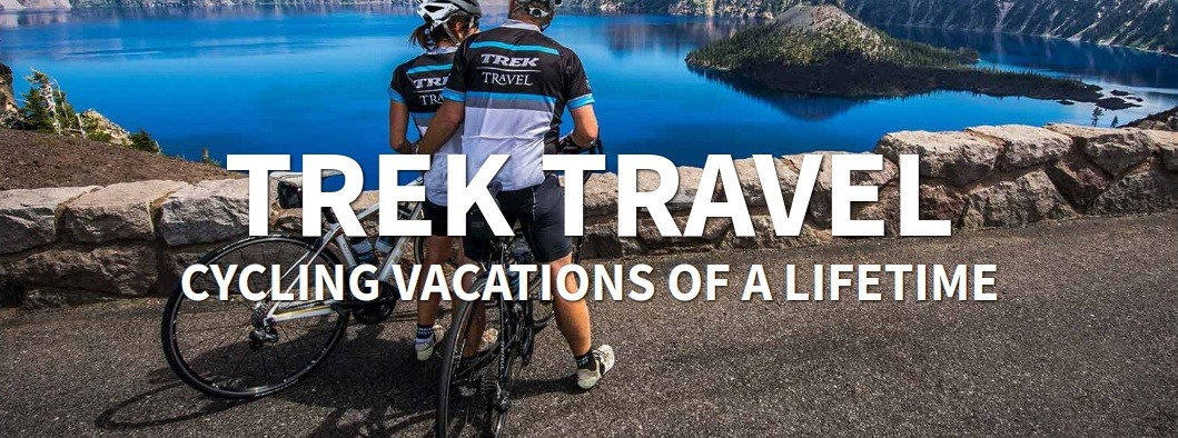 Trek Travel Vacations Image of Couple on Bikes
