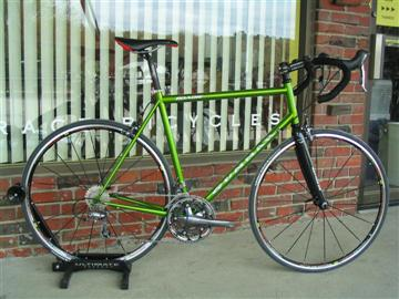 Custom Gunnar Roadie fit and built by Grace Bicycles view 1
