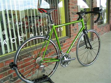 Custom Gunnar Roadie fit and built by Grace Bicycles view 3